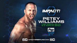 Resultados GFW Impact (31-agosto-2017) — Petey Williams regresa a Impact 20