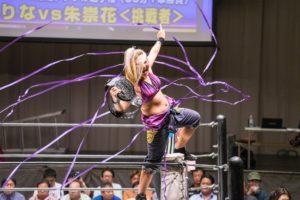 """Pro Wrestling WAVE: Resultados """"New Chapter"""" 17/09/2017 - Rina Yamashita no suelta su cinturón 30"""