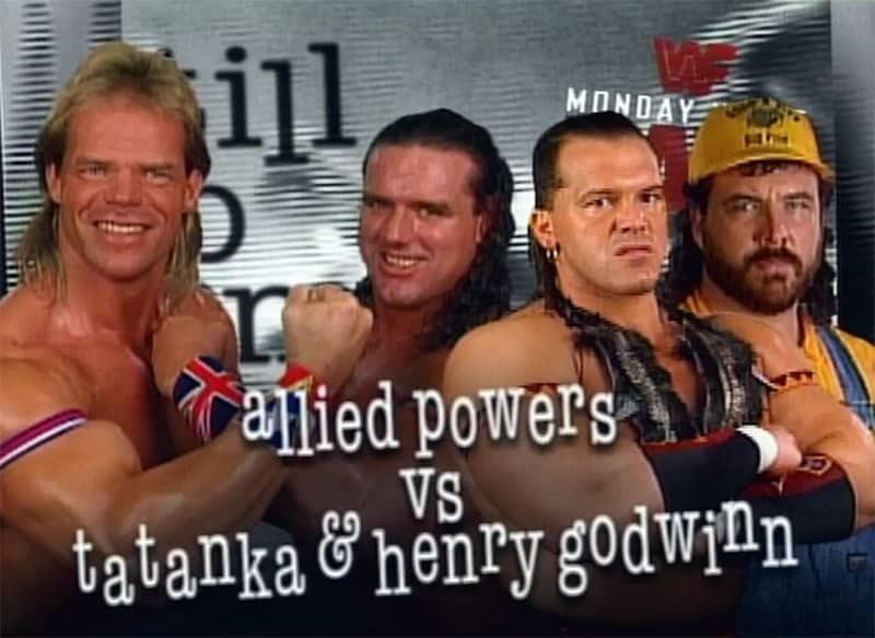 Monday Night Raw Clásico (10-jul-95): Psycho Sid acecha a Diesel 49