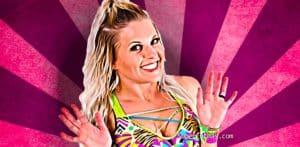 La bella Candice LeRae llegaría pronto a WWE 15