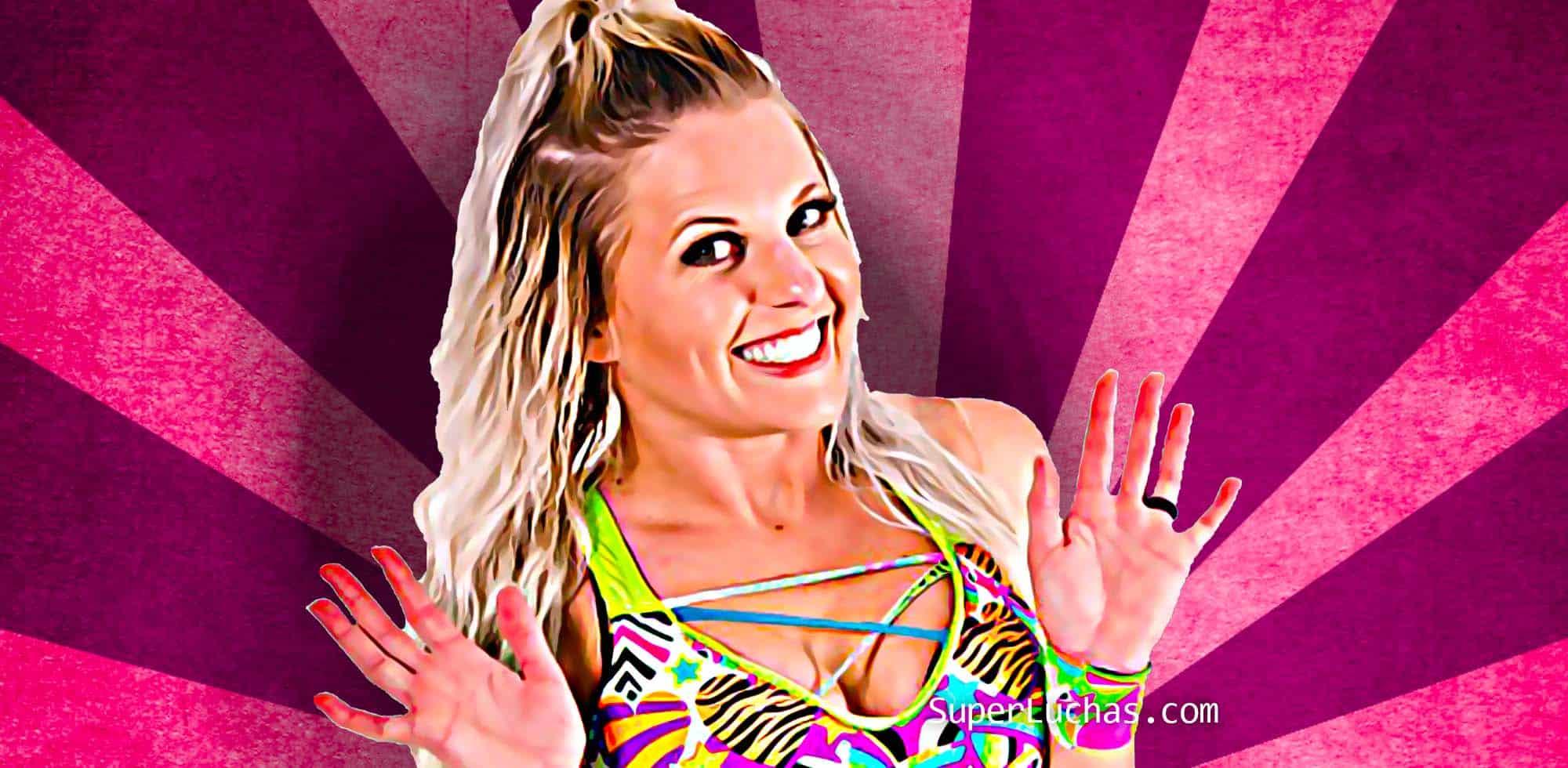 La bella Candice LeRae llegaría pronto a WWE 1