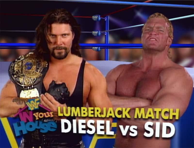 Monday Night Raw Clásico (10-jul-95): Psycho Sid acecha a Diesel 8