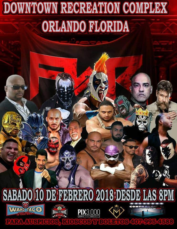 FWR: Confirmado el primer encuentro Drago vs El Cuervo 1