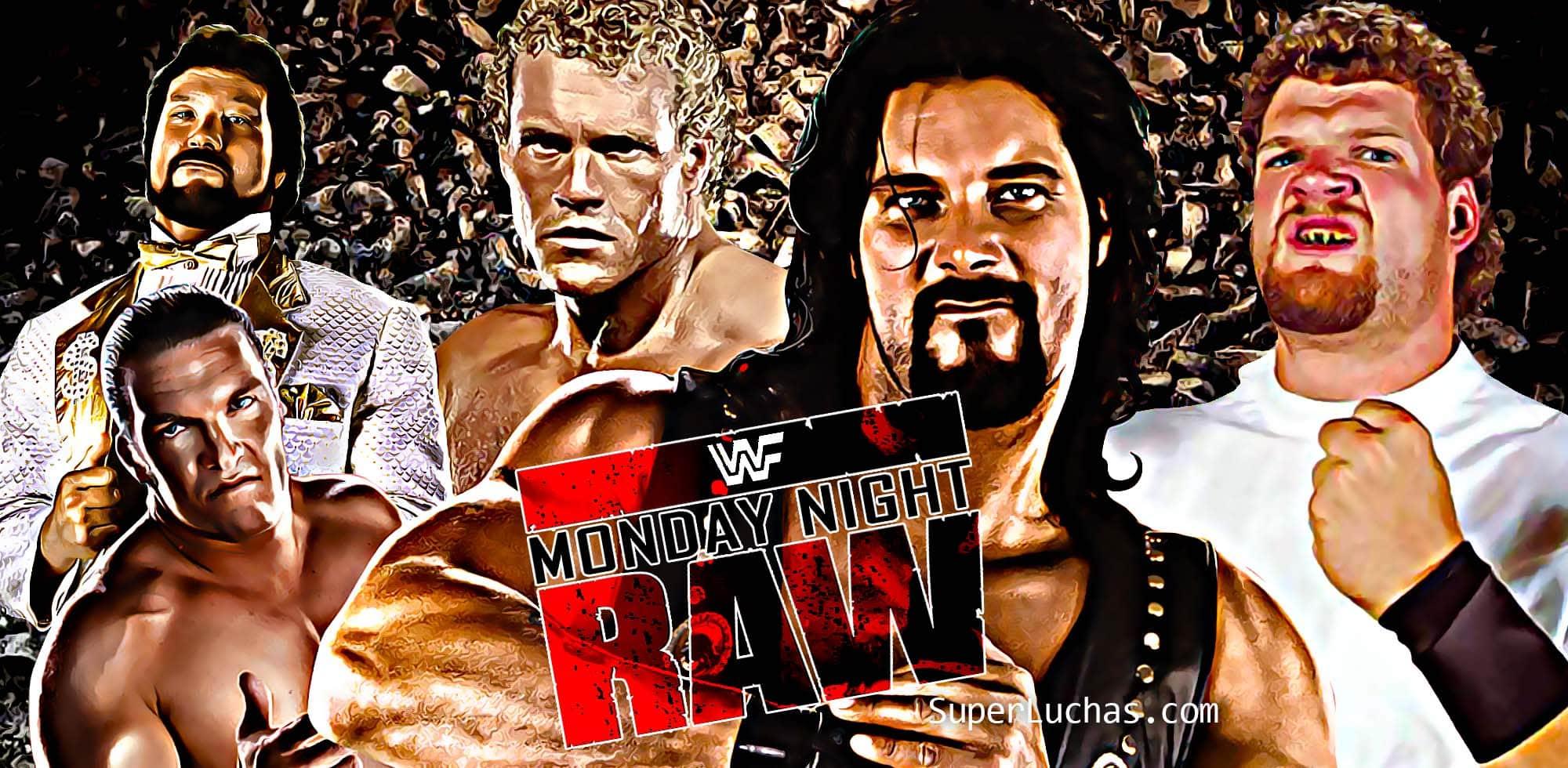 Monday Night Raw Clásico (10-jul-95): Psycho Sid acecha a Diesel 1