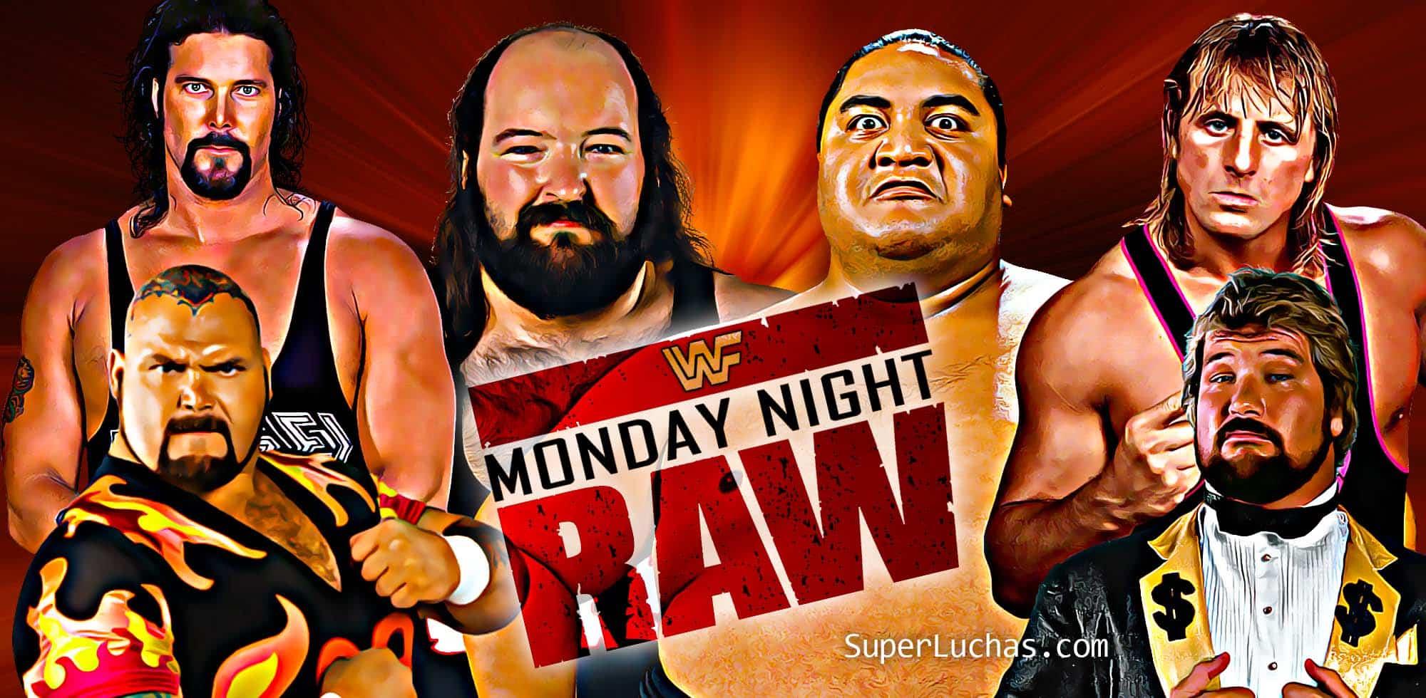 Monday Night Raw Clásico (16 mayo 1994) — Yokozuna vs. Earthquake en lucha sumo 1