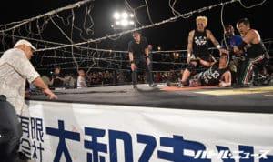 """Cho Hanabi: Resultados """"Sayonara Onita Final Tour"""" 09/10/2017 Onita se luce en dos luchas consecutivas 1"""