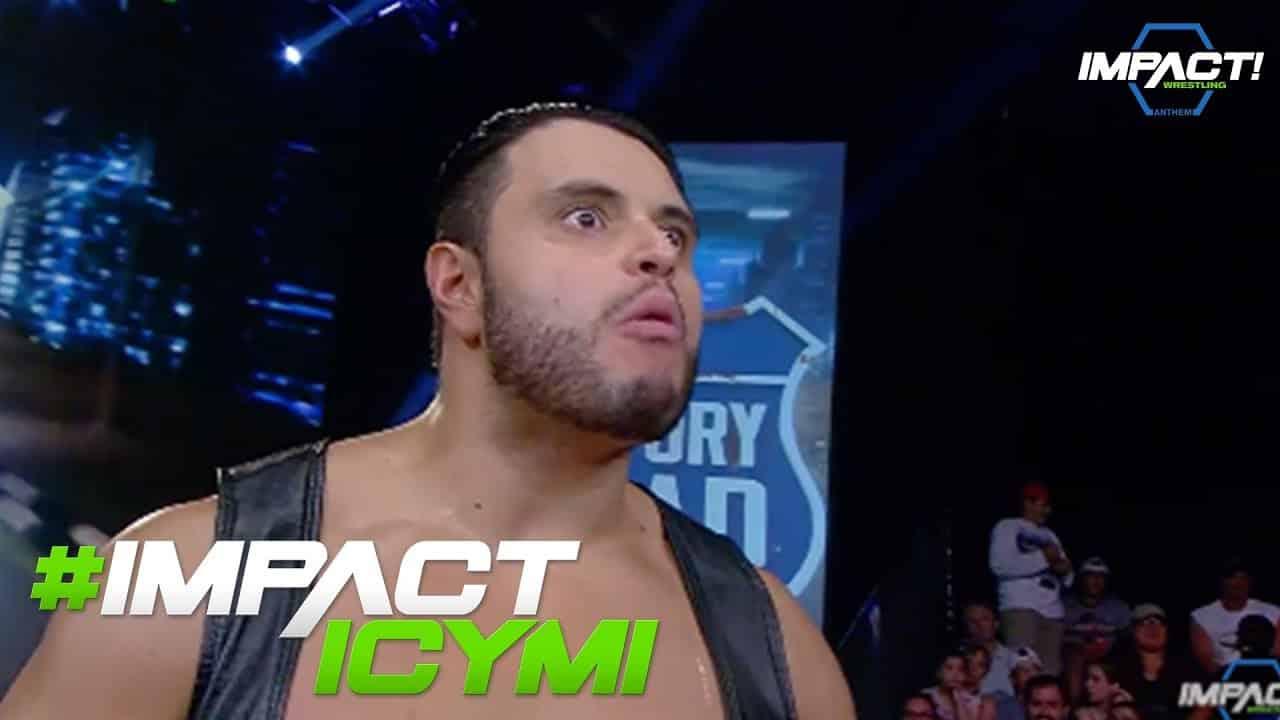 Los protagonistas de la semana en Impact Wrestling 1 al 7 de octubre de 2017 1