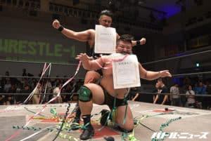 """W-1 Resultados """"Wrestle-1 Tag League 2017- Gran Final"""" Koji Doi y Kuma Goro se llevan el torneo 43"""