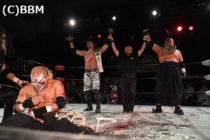 """BJW: Resultados """"Death Market 41"""" Abdullah Kobayashi y Ryuji Ito destrozan a sus rivales y siguen reinando 24"""