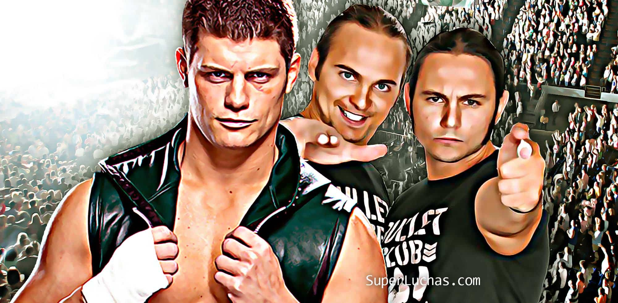 Cody Rhodes Young Bucks