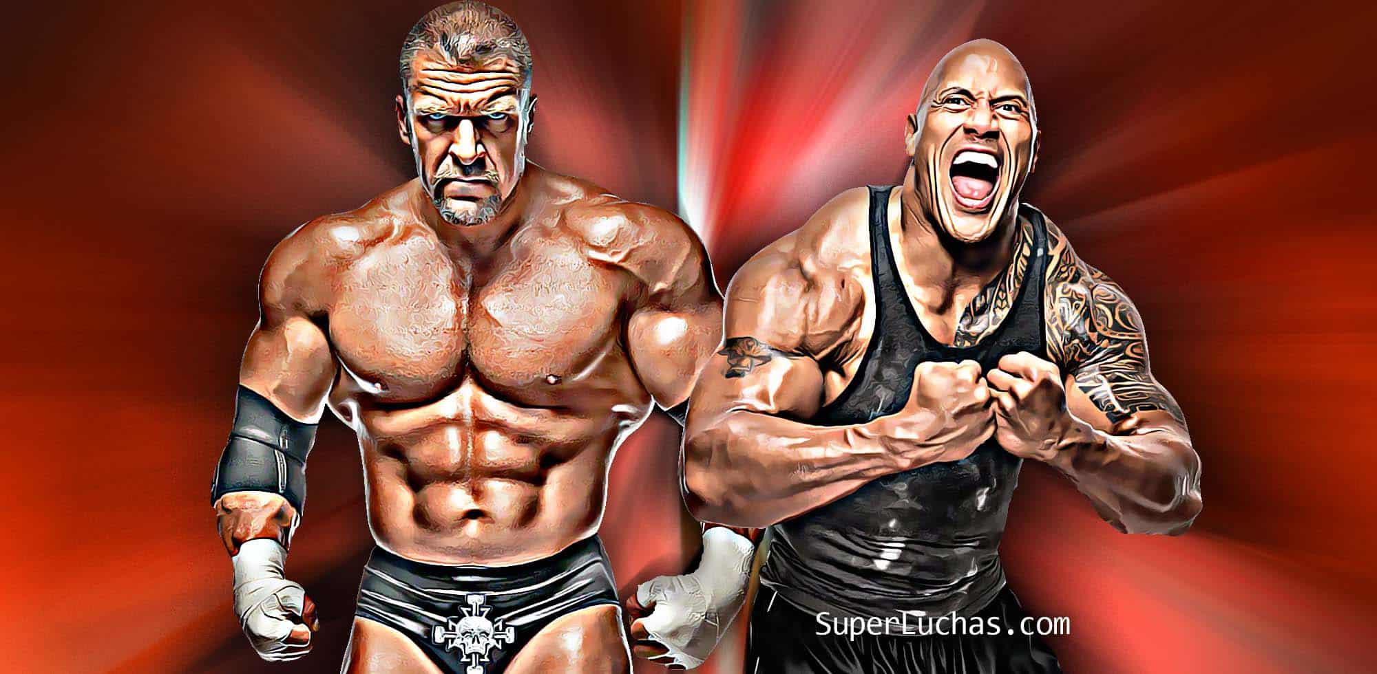 Triple H The Rock