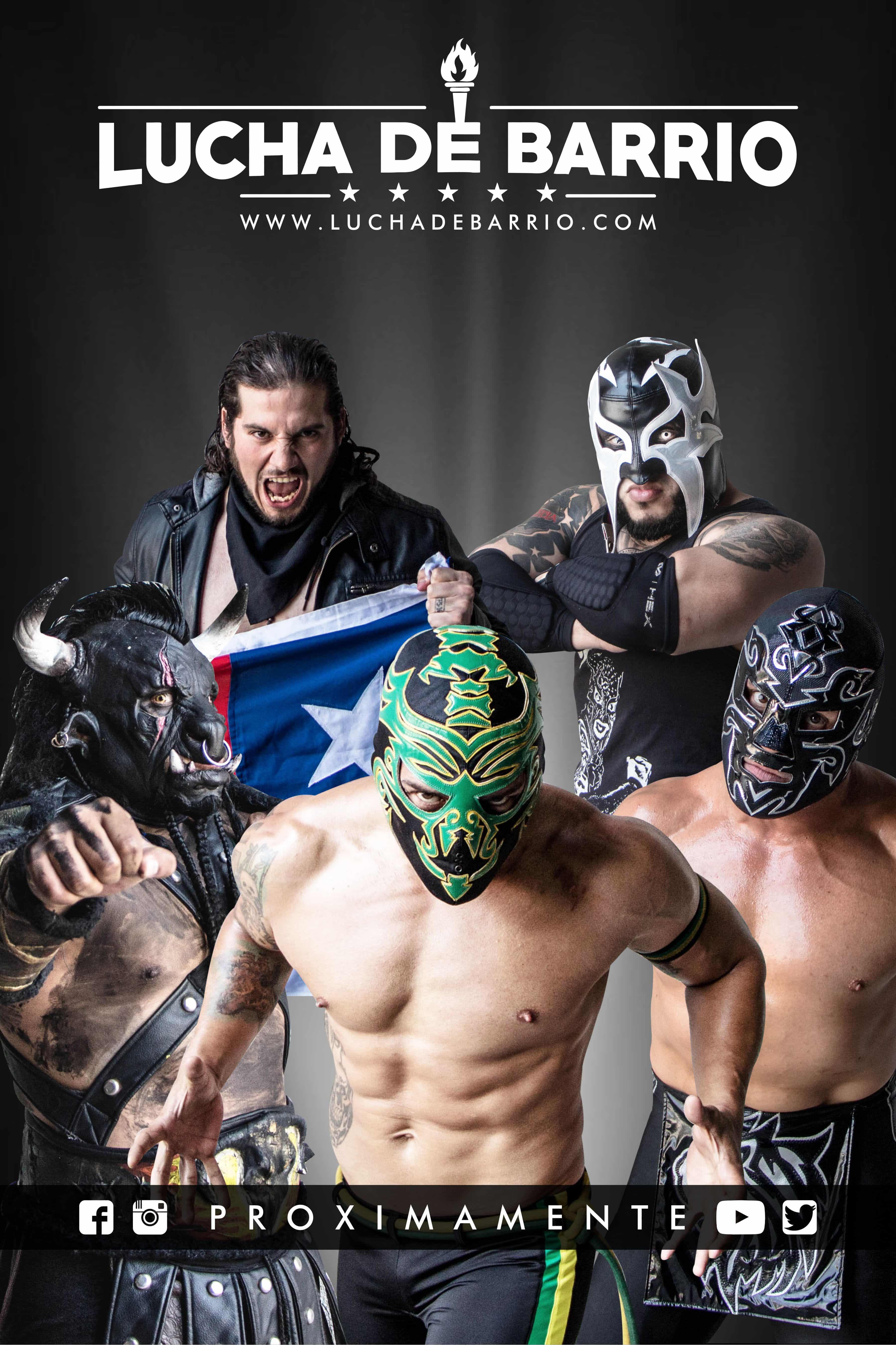 Lucha de Barrio: novedoso concepto en la lucha libre ...