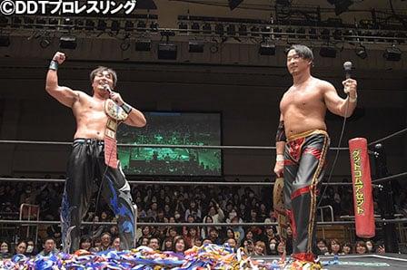 "DDT: Resultados ""God Bless DDT 2017"" HARASHIMA y Marufuji firmes monarcas 1"