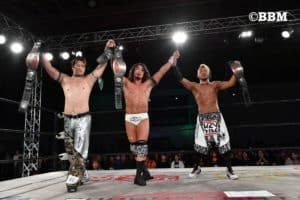 "Dragon Gate: Resultados ""Memorial Gate 2017 in Sendai"" Tribe Vanguard retiene el cetro de tercias 28"