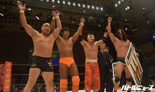 La función inaugural de New Wrestling Oriental Heroes de China 4