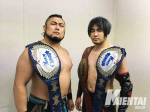 "K-Dojo: Resultados ""Club-K Super in Blue Field"" Isami Kodaka y Tank Nagai, campeones en parejas 14"