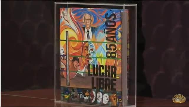 CMLL: Con motivo de los 85 años de la empresa se editará un libro conmemorativo 1