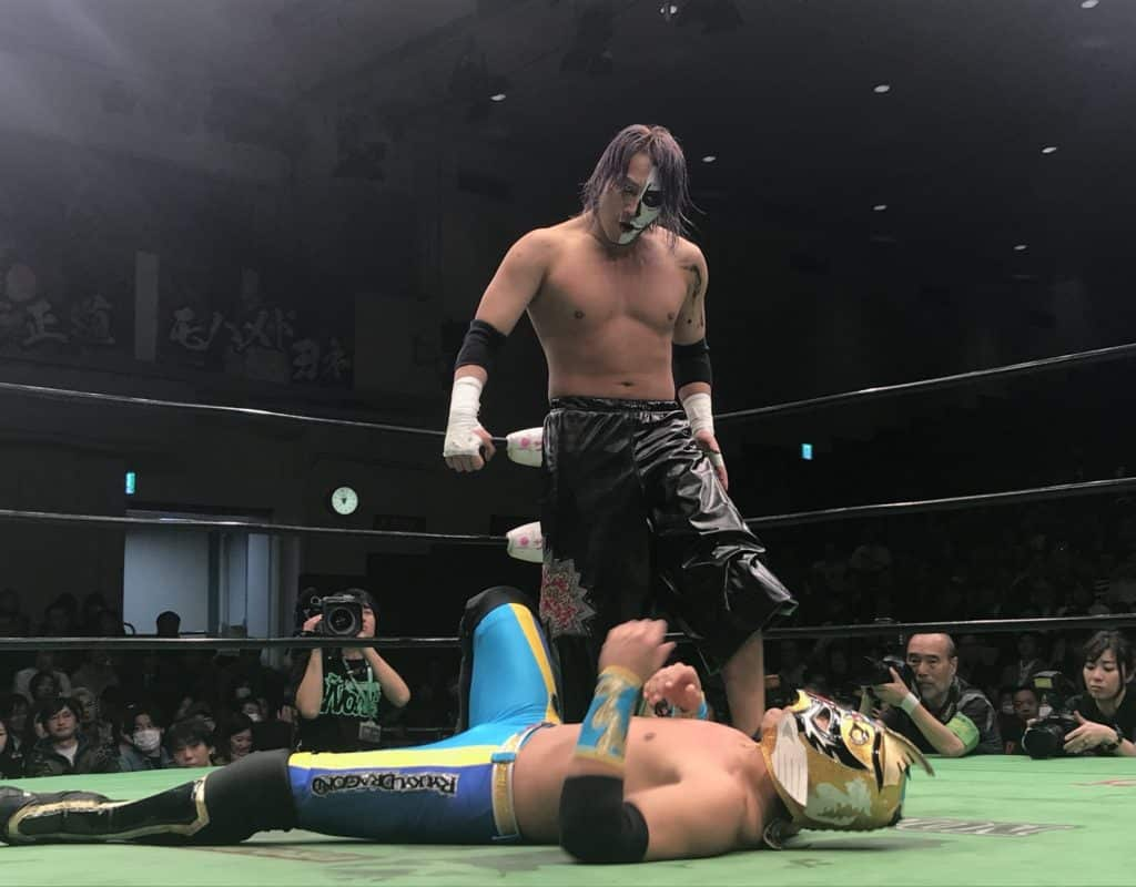 "Pro Wrestling NOAH: Resultados ""Kabuki the Final"" El adiós de Great Kabuki; Kenou destrona a Edwards 6"