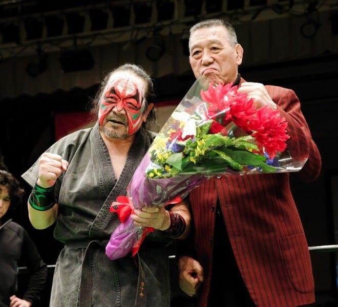 "Pro Wrestling NOAH: Resultados ""Kabuki the Final"" El adiós de Great Kabuki; Kenou destrona a Edwards 1"