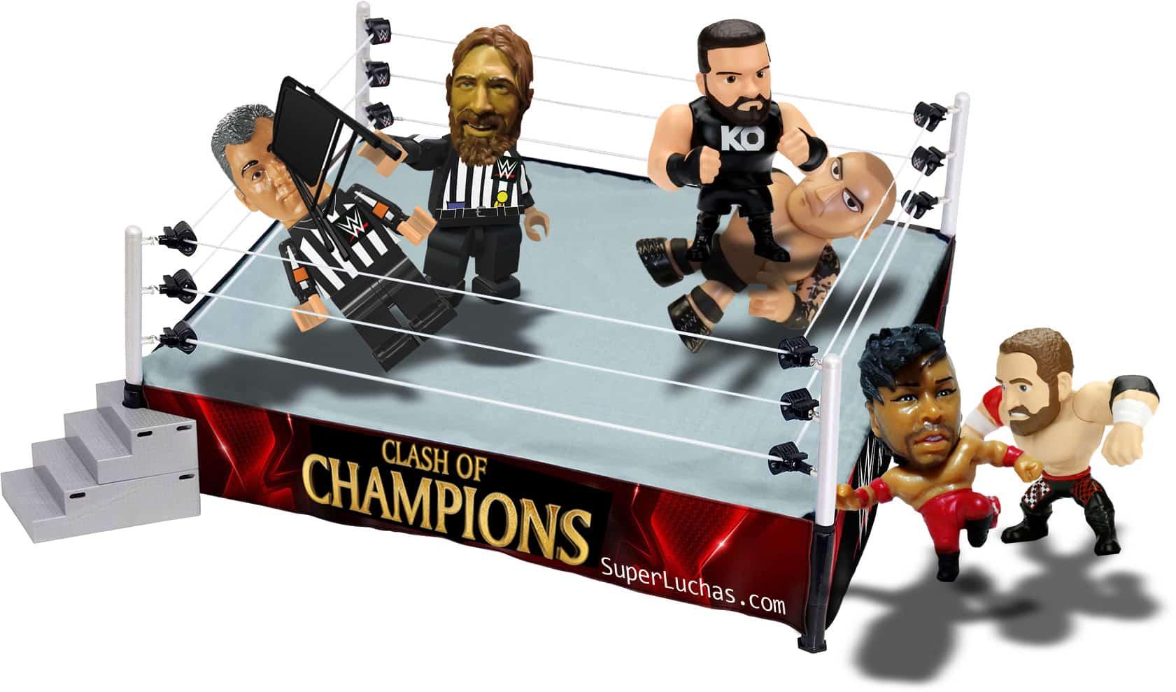 Tres posibles escenarios para la lucha estelar de Clash of Champions 2