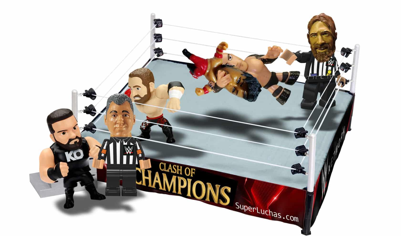 Tres posibles escenarios para la lucha estelar de Clash of Champions 4