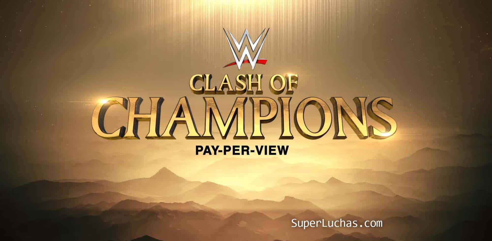 Presumible cartel por ahora de Clash of Champions 2019 1