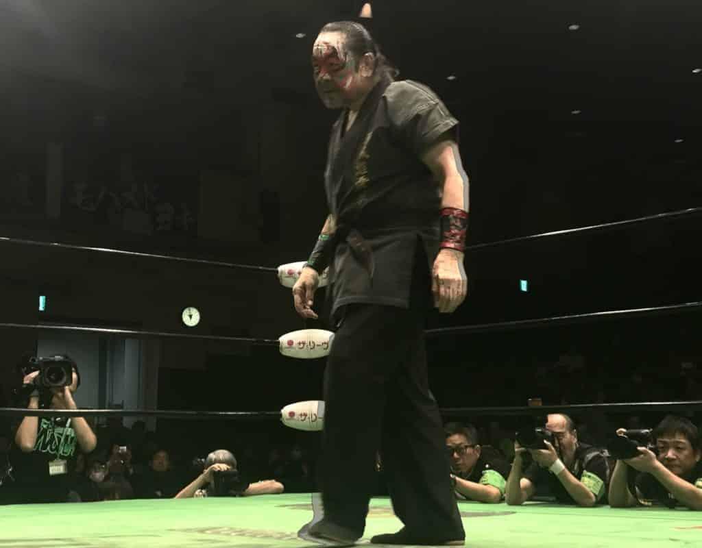 "Pro Wrestling NOAH: Resultados ""Kabuki the Final"" El adiós de Great Kabuki; Kenou destrona a Edwards 3"