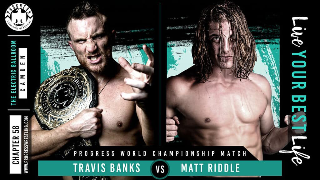 Resultados PROGRESS Chapter 58 - Travis Banks vs. Matt Riddle 5