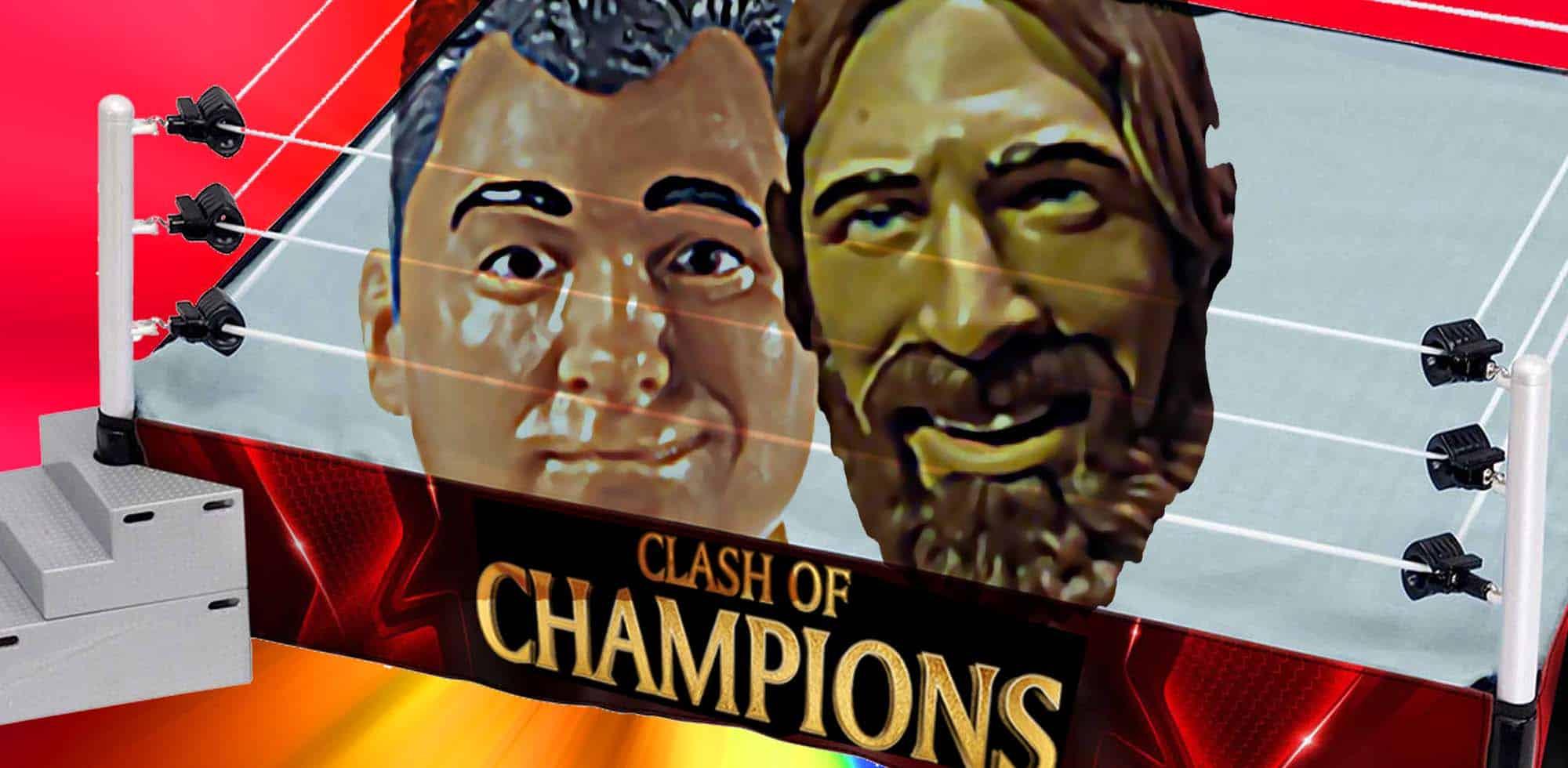 Tres posibles escenarios para la lucha estelar de Clash of Champions 1