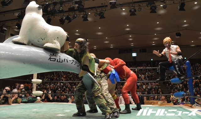 "Michinoku Pro: Resultados ""Space Great War 12"" El retorno al Korakuen Hall 44"