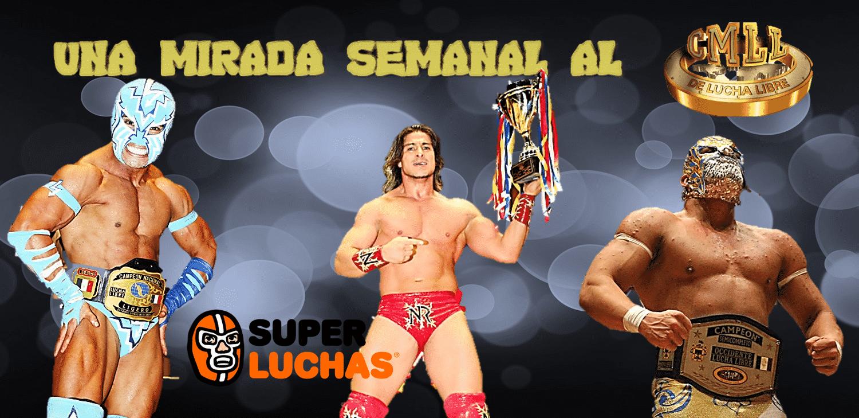 CMLL: Una mirada semanal al CMLL (del 30 de noviembre al 6 de diciembre de 2017) 1