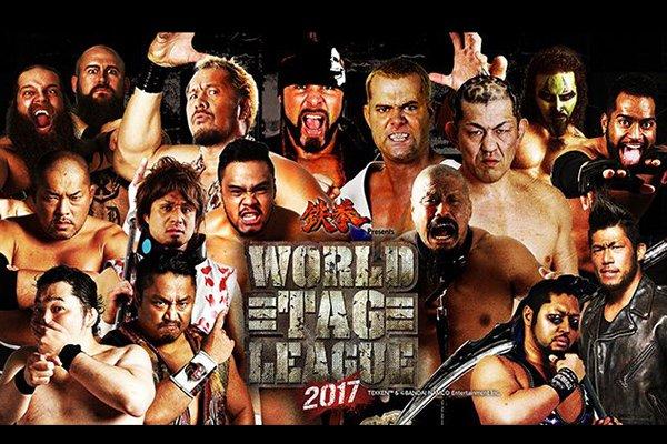 """NJPW: Resultados """"World Tag League 2017 Días 14 y 15"""" Se cierra la lucha por la supremacía 1"""