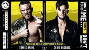 PROGRESS Chapter 61 - Travis Banks defiende ante Chris Brookes 18