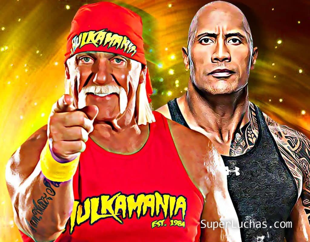 Hulk Hogan The Rock