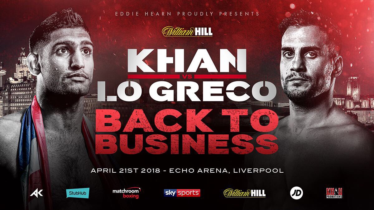 Confirman oponente de Amir Khan para el 21 de abril 9