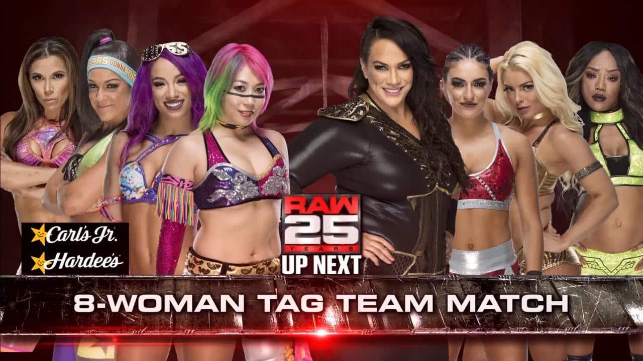 Resultados Monday Night Raw (22-en-18) — ¡25 Aniversario! 12