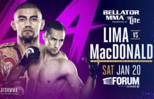 Bellator 192: Lima vs MacDonald - Suspensiones medicas 1