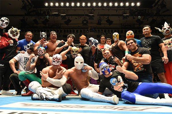 """NJPW/CMLL: Resultados """"Fantasticamania 2018"""" Sensacional cierre, los Guerreros Laguneros ganan cuadrangular 9"""