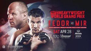 Fedor Emelianenko vs. Frank Mir oficial para Bellator 196 10