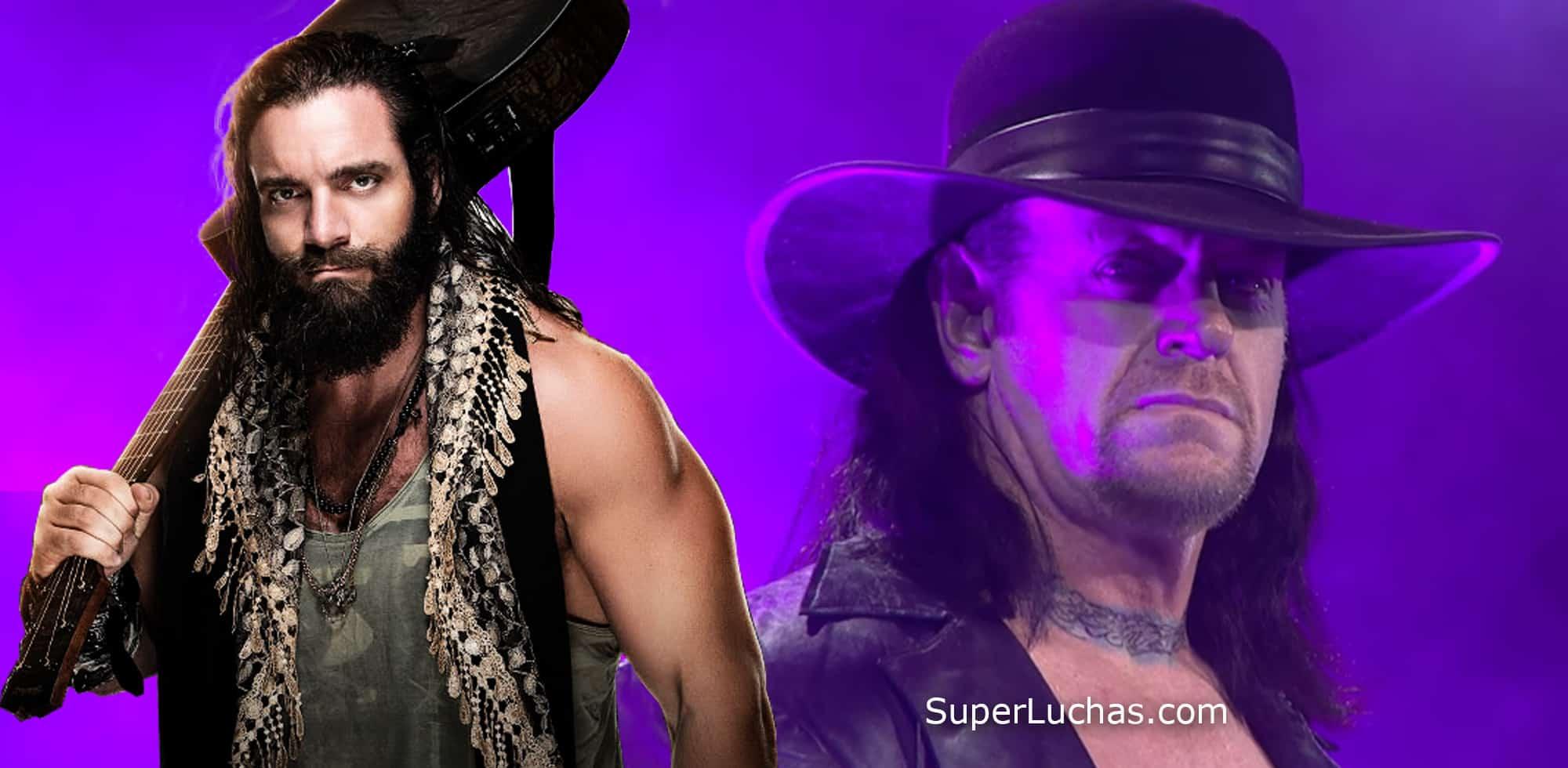 Elias y The Undertaker / WWE© y SÚPER LUCHAS – SuperLuchas.com