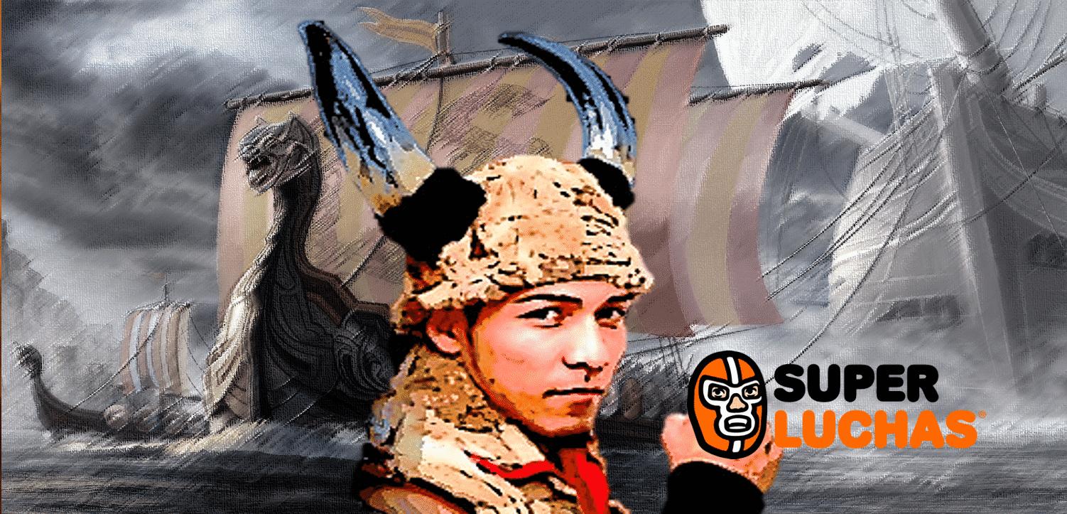 """AAA- """"Me siento preparado para ser campeón"""": Hijo del Vikingo 1"""