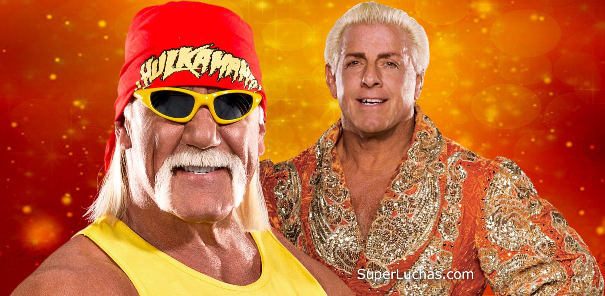 Hulk Hogan y Ric Flair / WWE© y SÚPER LUCHAS – SuperLuchas.com