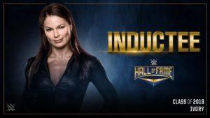 Ivory en el WWE Hall of Fame 2018 / WWE©