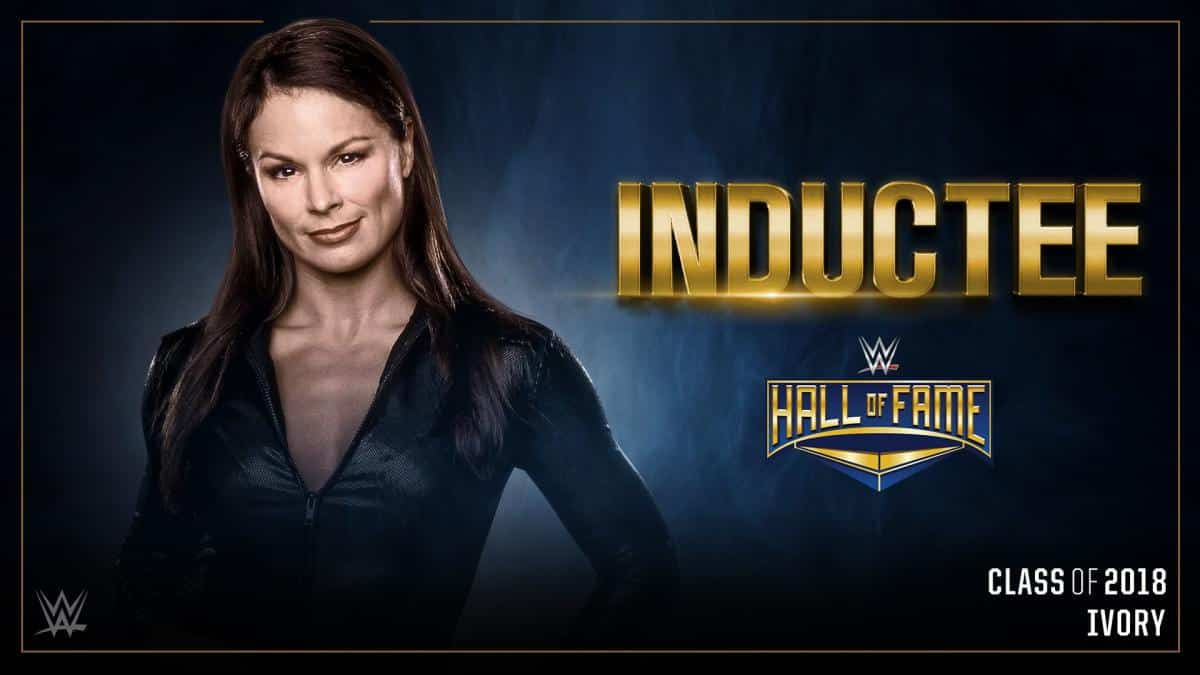 Ivory en el WWE Hall of Fame 2018 / WWE©