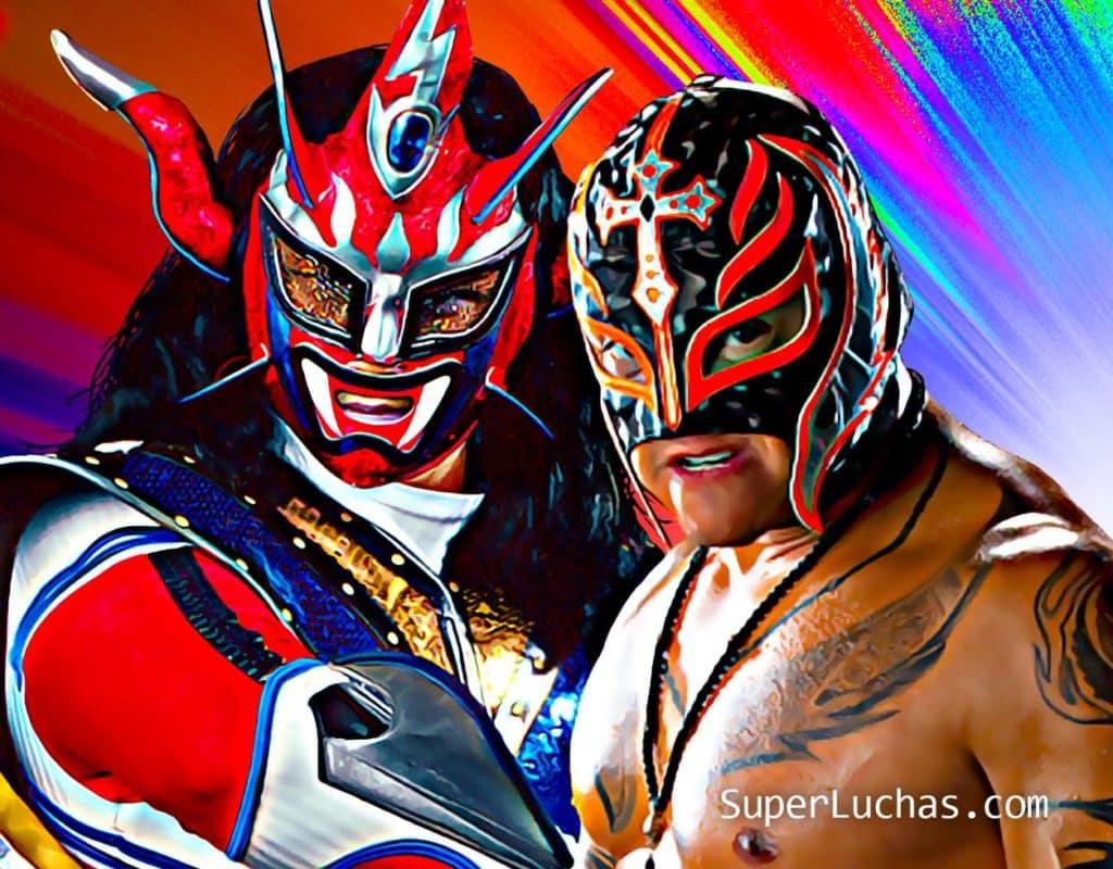 "Jushin ""Thunder"" Liger vs. Rey Mysterio"
