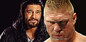 Roman Reigns Brock Lesnar