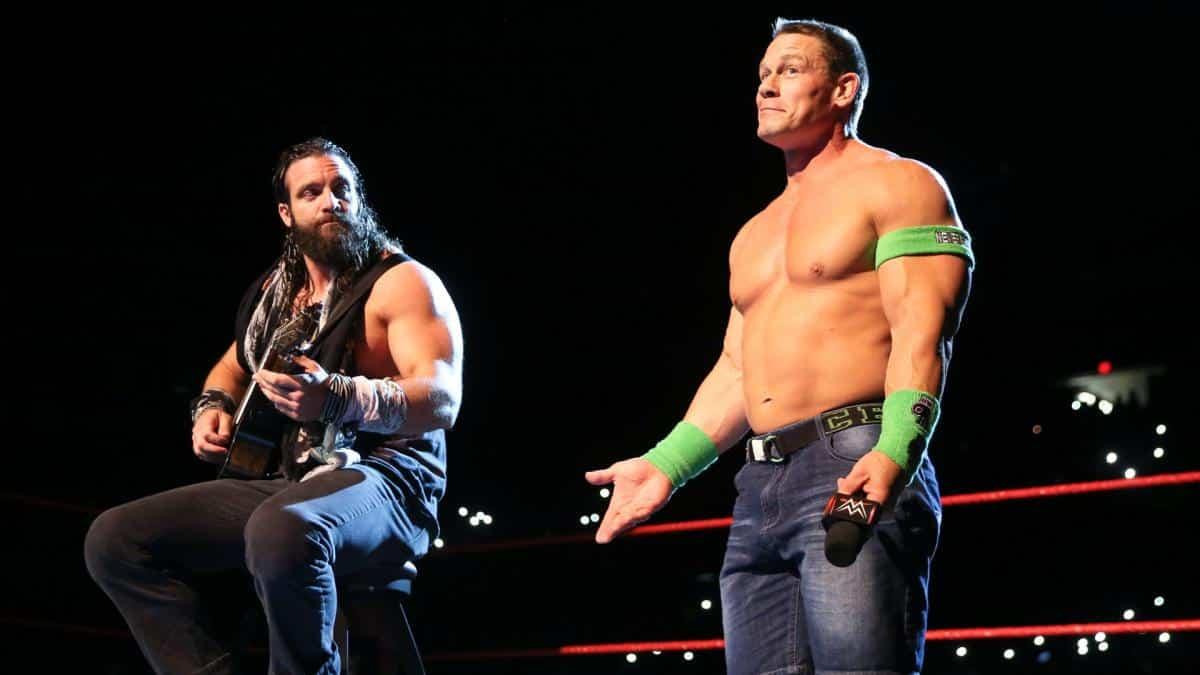 Elias Y Cómo John Cena Lo Alentó A Usar Su Famosa Frase En