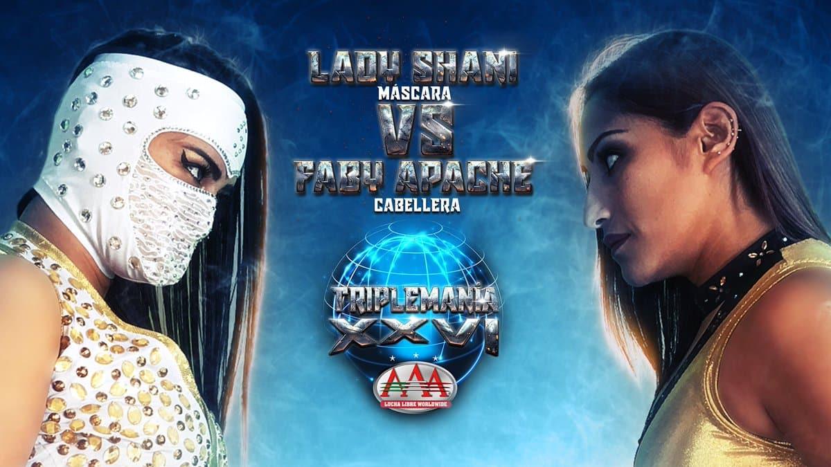 Triplemanía XXVI: ¡Confirmado! Faby Apache vs. Lady Shani en duelo de apuestas 7
