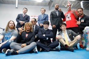 Gran apertura del NJPW Dojo de Los Ángeles, CA 11