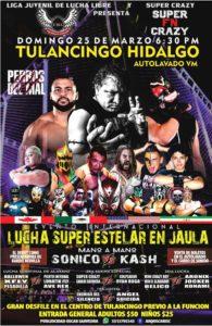 Super Crazy se presentará en dos grandes eventos en Hidalgo 14